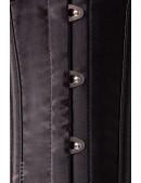 Комплект белья: корсет, бюстгальтер, трусики и перчатки (135031) - материал, 6