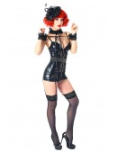 Сексуальный комплект: ажурный чокер и наручники (611001) - оригинальная одежда, 2