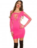 Розовое платье KouCla (127140) - foto