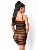 Прозрачное мини-платье (138005) - цена, 4