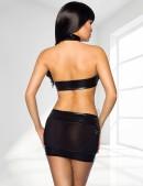 Мини-топ и юбка с цепочками (126164) - оригинальная одежда, 2