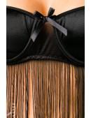 Комплект красивого белья с бахромой (135024) - цена, 4
