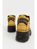 Кожаные кроссовки на платформе New Rock SAPELI (106-C74SAPELI) - материал, 6