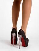 Туфли на высоком каблуке с шипами XT003 (300003) - цена, 4