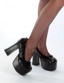 Туфли с кружевом Demonia (300007) - материал, 6