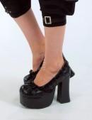 Туфли с кружевом Demonia (300007) - 4, 10
