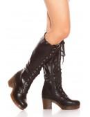 Сапоги женские с полиуретановыми подошвами MF10045 (310045) - оригинальная одежда, 2