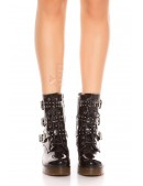 Ботинки женские с полиуретановыми подошвами MF10047 (310047) - материал, 6