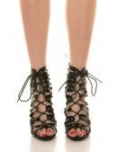 Закрытые босоножки со шнуровкой MF21005 (321005) - материал, 6
