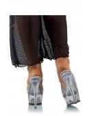 Прозрачные шлепанцы на высоком каблуке P1006 (321006) - оригинальная одежда, 2