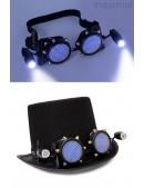 Черные гогглы с подсветкой I5103 (905103) - foto