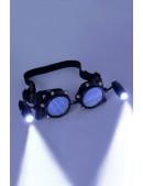 Черные гогглы с подсветкой I5103 (905103) - 3, 8