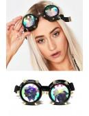 Фестивальные очки-гогглы калейдоскоп X5124 (905124) - foto