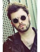 Серебристые круглые очки Hitek (905073) - оригинальная одежда, 2