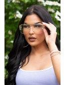 Прозрачные солнцезащитные очки KC5109 (905109) - оригинальная одежда, 2