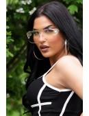 Прозрачные солнцезащитные очки KC5109 (905109) - цена, 4