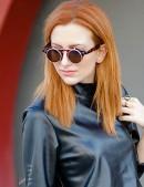 Круглые очки в леопардовой оправе (905044) - оригинальная одежда, 2