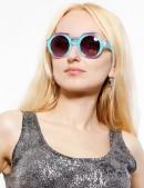 Солнцезащитные очки в двухцветной оправе (905054) - оригинальная одежда, 2