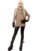 Свитер женский оверсайз X1225 (111225) - оригинальная одежда, 2