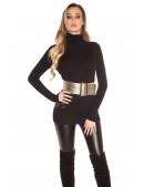 Черный свитер-туника KouCla (111231) - 4, 10
