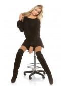 Черный свитерок KouCla (111241) - 3, 8