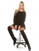Черный свитерок KouCla (111241) - оригинальная одежда, 2