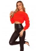 Яркий вязаный пуловер MF1243 (111243) - 3, 8