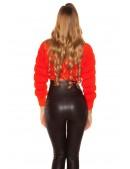 Яркий вязаный пуловер MF1243 (111243) - материал, 6