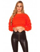 Яркий вязаный пуловер MF1243 (111243) - foto