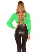 Пуловер женский MF1244 (неоновый зеленый) (111244) - цена, 4