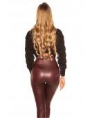 Укороченный женский черный пуловер MF1246 (111246) - материал, 6