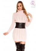 Вязаное платье-свитер KouCla Rosa (105378) - foto