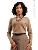 Женский джемпер из натуральной шерсти X1212 (111212) - foto