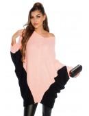 Платье-свитер лососевого цвета KouCla (111266) - 4, 10