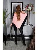 Платье-свитер лососевого цвета KouCla (111266) - 3, 8