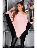 Платье-свитер лососевого цвета KouCla (111266) - foto