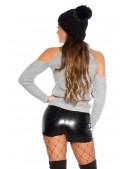 Водолазка-свитер с открытыми плечами KC1024 (141024) - оригинальная одежда, 2