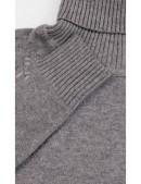 Серый меланжевый свитер XC1031 (141031) - материал, 6