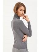 Серый меланжевый свитер XC1031 (141031) - цена, 4