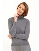 Серый меланжевый свитер XC1031 (141031) - оригинальная одежда, 2