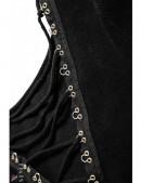 Двусторонний женский джемпер с чокером (111168) - оригинальная одежда, 2