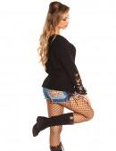 Рваный черный свитер Koucla (111196) - цена, 4
