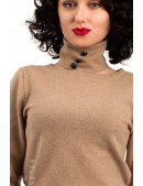 Джемпер из овечьей шерсти и чокер X1215 (111215) - оригинальная одежда, 2