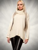 Асимметричный свитер 111136 (111136) - foto