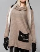 Объемный женский свитер X-Style (111144) - цена, 4