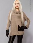 Объемный женский свитер X-Style (111144) - foto