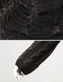 """Рваный свитер из """"состаренной"""" пряжи (111159) - цена, 4"""