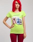 Женская футболка с принтом (102113) - foto