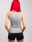 Топ с кожаными вставками (102138) - оригинальная одежда, 2