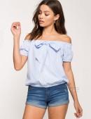 Топ с открытыми плечами (102127) - оригинальная одежда, 2